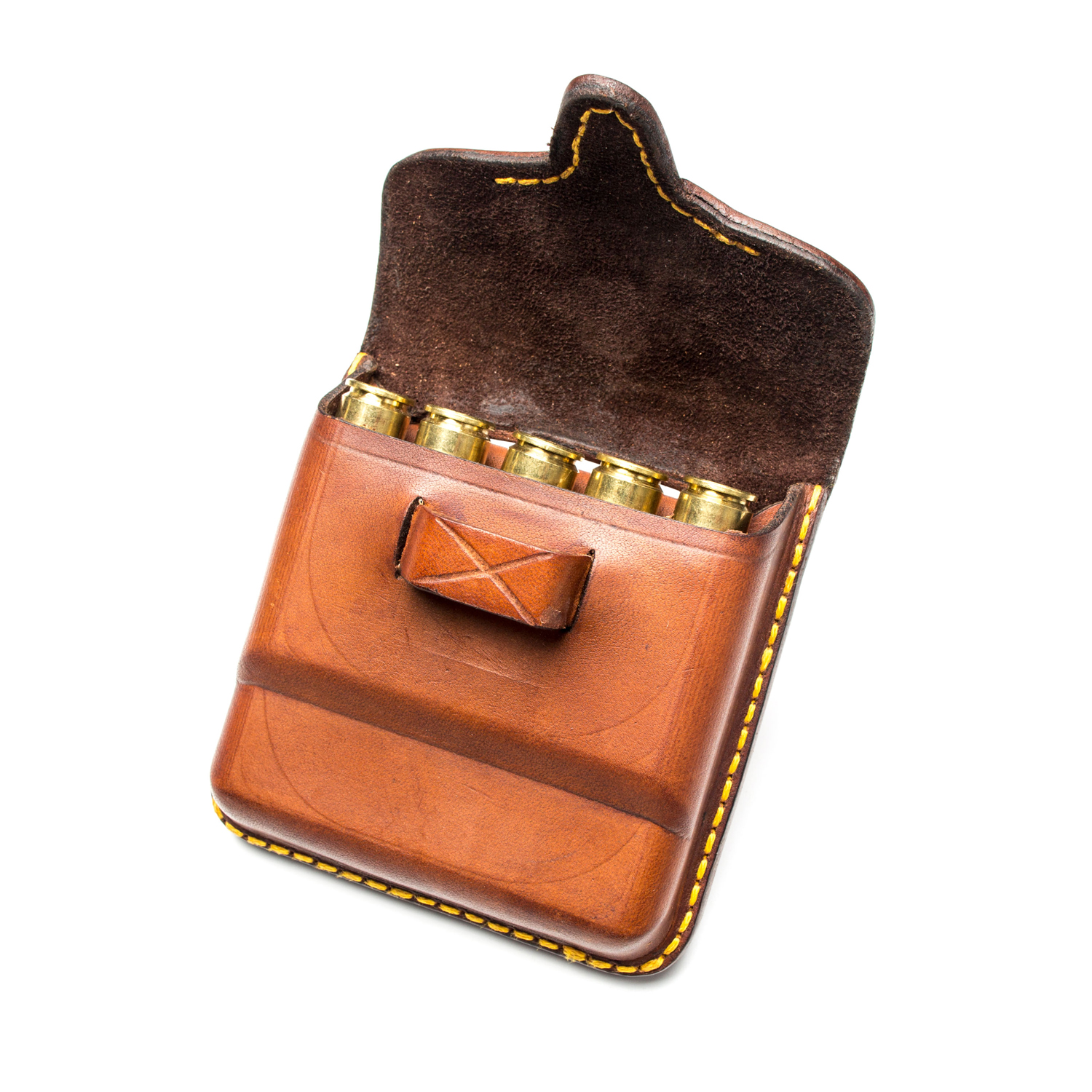 African Leather Bullet Pouch John Rigby Amp Co