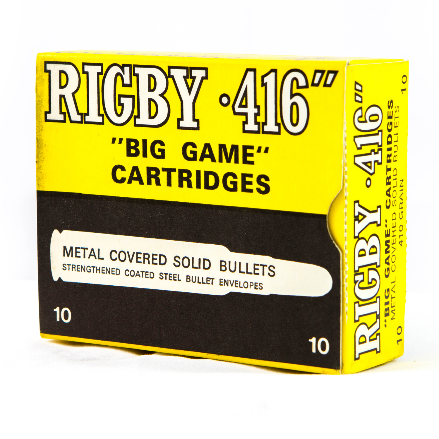 Vintage Rigby Ammunition Boxes