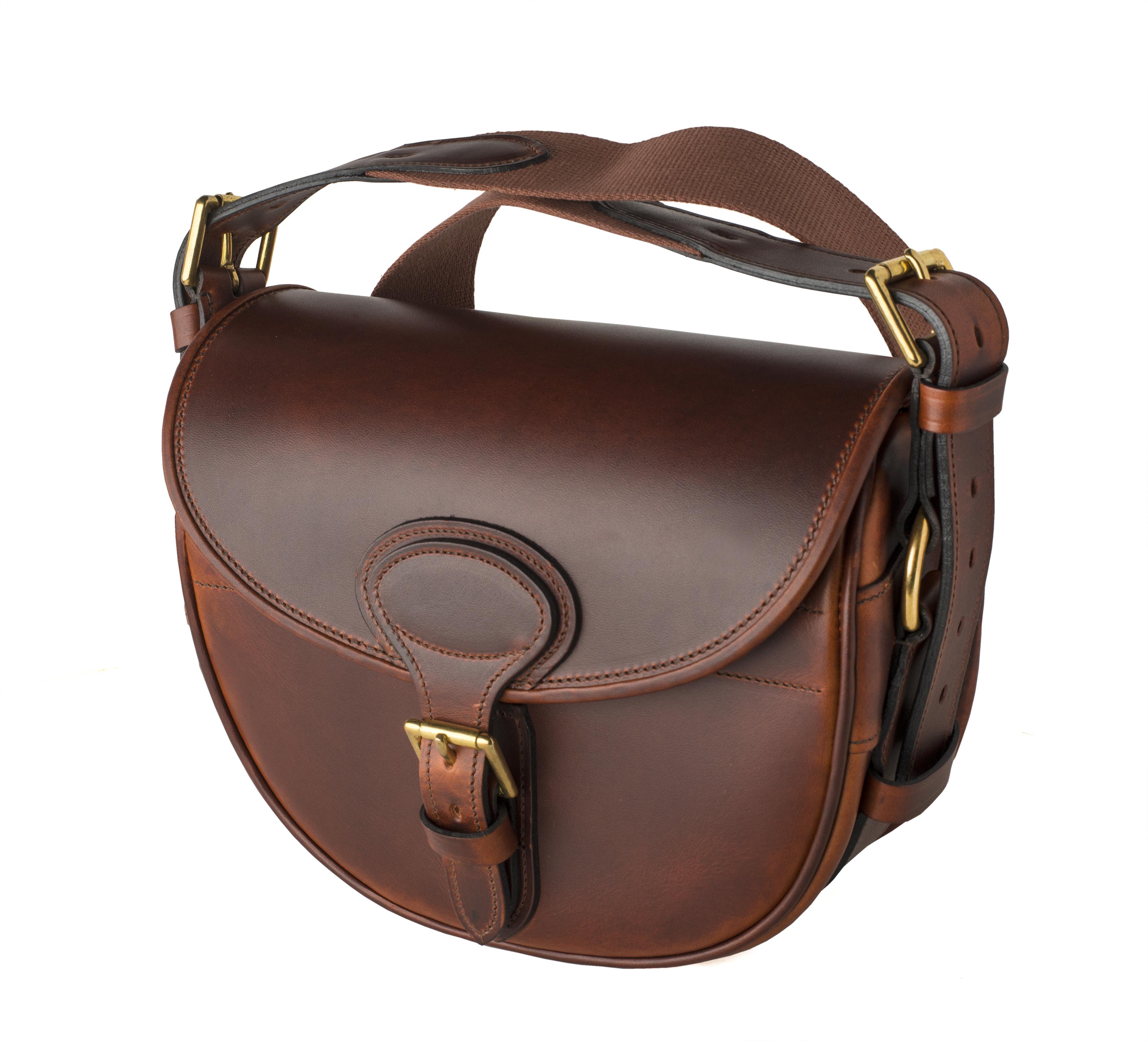 Rigby Leather Cartridge Bag - John Rigby   Co.